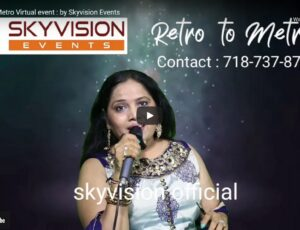 Retro to. Metro Virtual event : by Skyvision Events