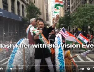 Kailash kher with Skyvision events @ Parade New York